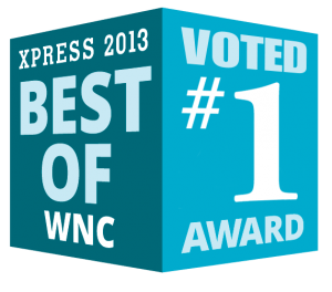 Best of WNC #1 Logo