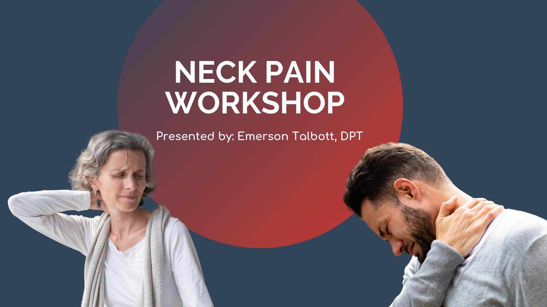 neck pain workshop